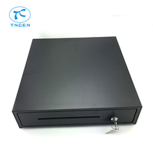 Electronic Metal Hight Speed Hot selling Factory Price Locking Cash Drawer With 4 Bill Trays And 8 Coin Trays