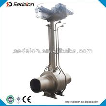 Long Stem stainless steel Ball Valve With Motor Actuator