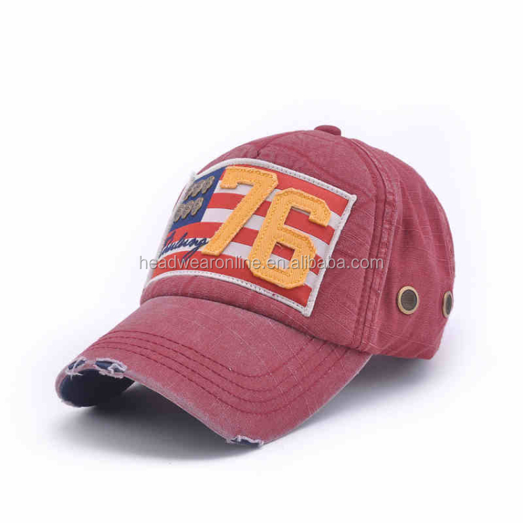 wholesale enzyme washed distressed baseball cap hats buy
