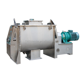 dry ingredient powder horizontal mixer