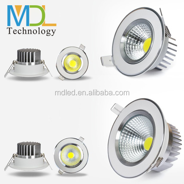 90lm/w cob led downlight/elegent looking led down light hole size 90mm led ceiling light manufacturer