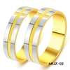 Stainless Steel Weeding rings gold Couple Engagement Weeding Ring