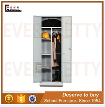Commercial furniture cheap folding steel cupboard wardrobe