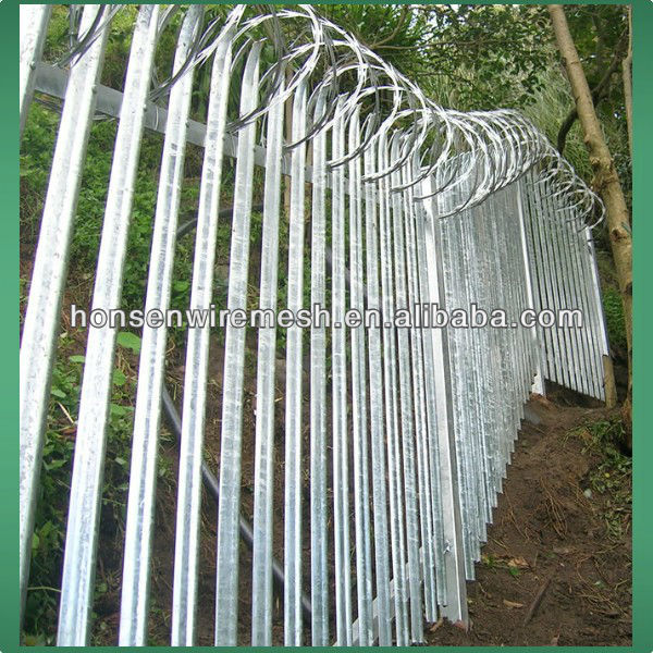 2013 New style !!!! anti-thief High Security Palisade spike Fence