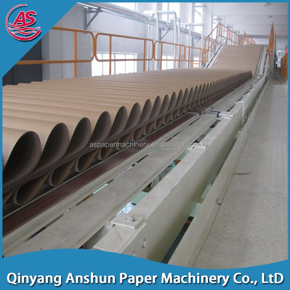 automatic paper plate /brown kraft paper / corrugated base paper machine for sale