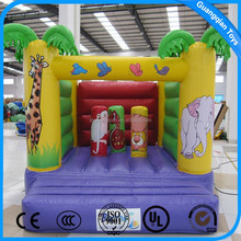 Guangqian Outdoor Or Indoor Mini Inflatable Air Bouncer Castle Trampoline