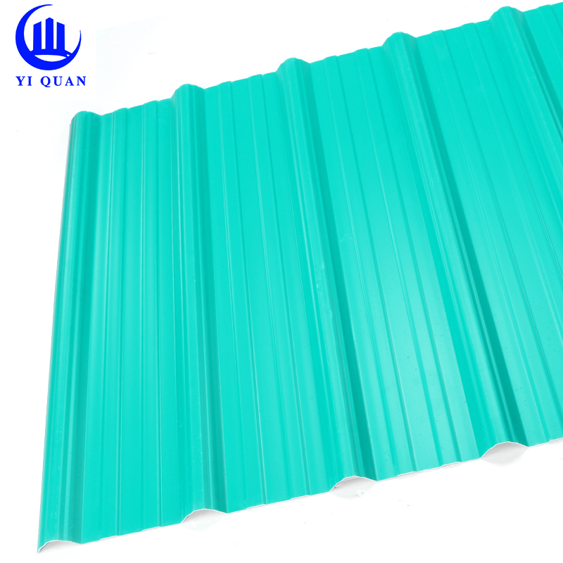 APVC plastic fiber board pvc roof tile/masonry material waterproof roof covering