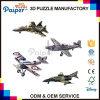 Top sales craft diy aircraft model fly toy plane