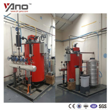 For Cooking Use 300Kg Vertical Diesel Gas Fired Restaurant Water Tube Boiler Steam Press Machine