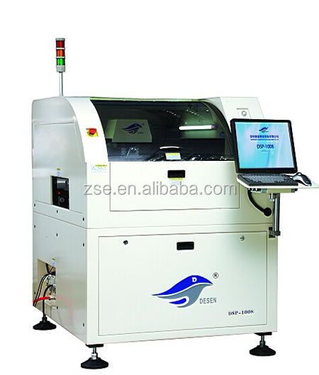 Easily Operate Automatic PCB Solder Paste Screen Printing Machine For SMT assembly line