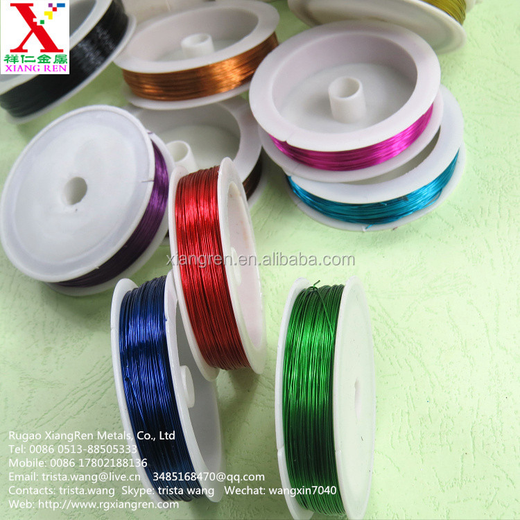 high quality and best price beading wire / craft wire china supplier