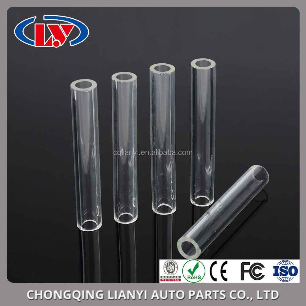 White See Through Transparent TPU Plastic Tube for Auto Parts