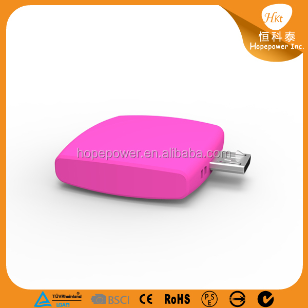 unique products to sell disposable power bank for iphone 5s used mobile phones One Time Power Bank 600mAh