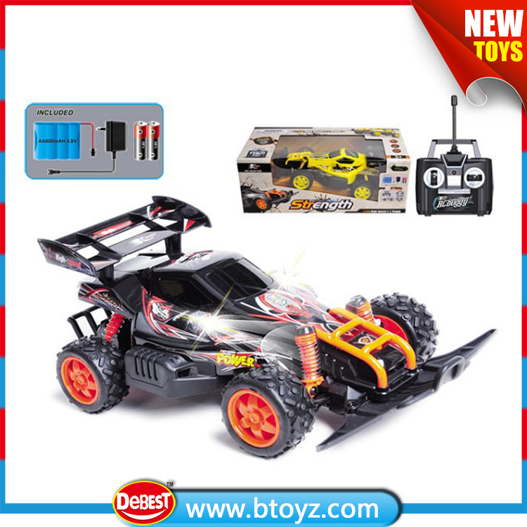 Hot Sale 4 Channel 1:16 Scale RC Four Wheel Drive Toy Car