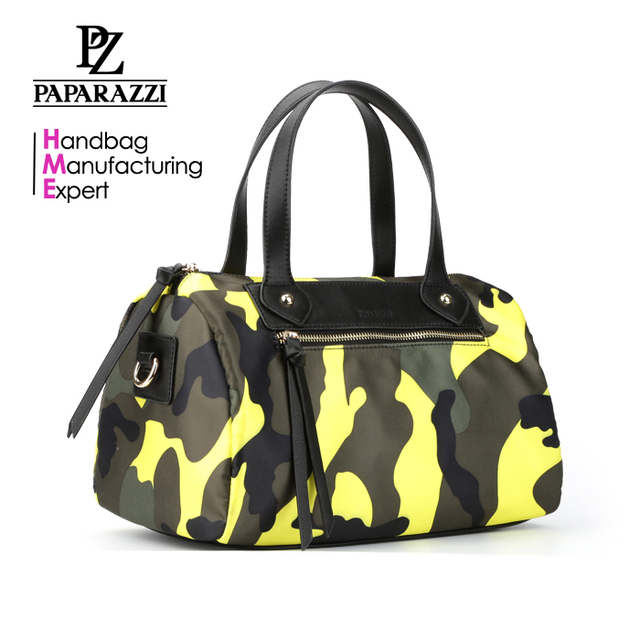 6567 2018 New arrivals top sale trendy camouflage color designer women handbag nylon bags