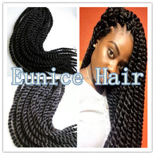 2015 Hot Selling Havana Mambo Twist Braids , Cheap Expression Synthetic Twist Braiding Hair