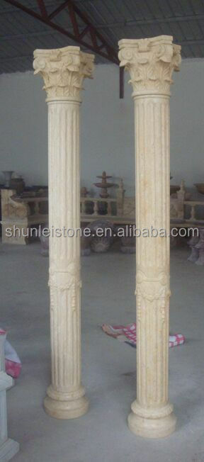 Best sale Marble Stone Carving Roman Pillar