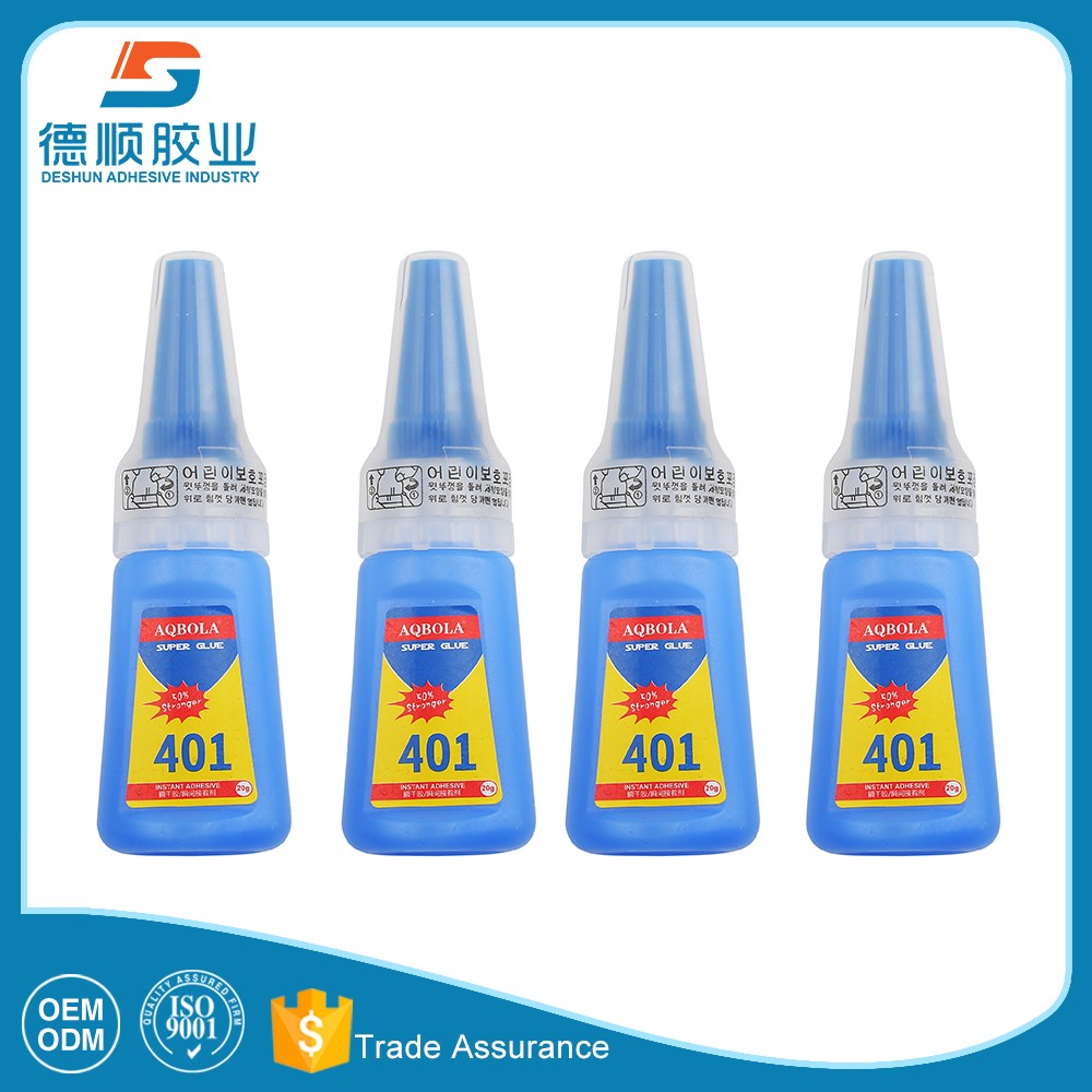 transparent clear 401 instant adhesive