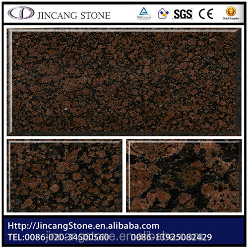 Fancy decoration brown granite