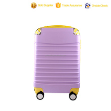 abs / polycarbonate trolley luggage/large suitcase sizes/hardside luggage suitcase