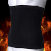 Guy's Waist Burning body Shapers ,breathable black waist slimming girdles P15