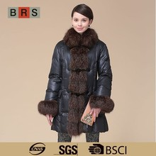 2015 new arrival hangzhou winter coat for women with certificates
