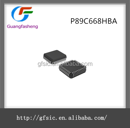 Original New Embedded Microcontroller chips IC with the part number of P89C668HBA
