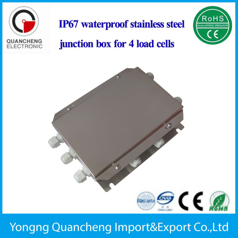 floor scale accessories 2-12 load cell waterproof stainless steel junction box