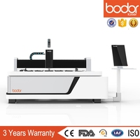 Laser cutting and grooving machine for stainless steel or aluminium sheets