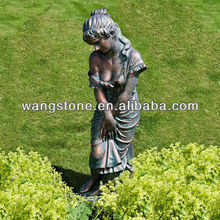 Bronze Lovely Lady figure sculpture
