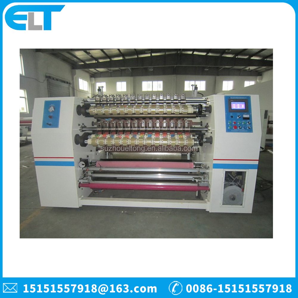 ELT-211 High Quality BOPP Tape Slitting Machine/Transparent/Clear BOPP Adhesive Tape OPP Packing Tape