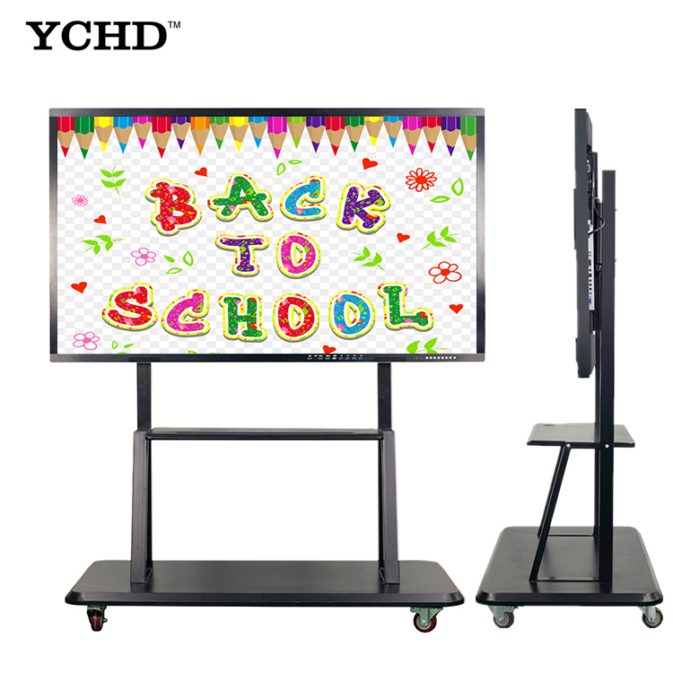 Hoge Resolutie Wall Mount 50 ''inch LED Monitor Touch Screen PC smart board