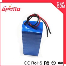 12v 24ah lifepo4 26650 battery pack with PCM and charger for e bike