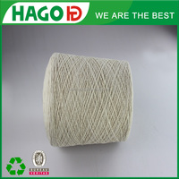 20s/1 China supply snow white regenerate cone cotton yarn