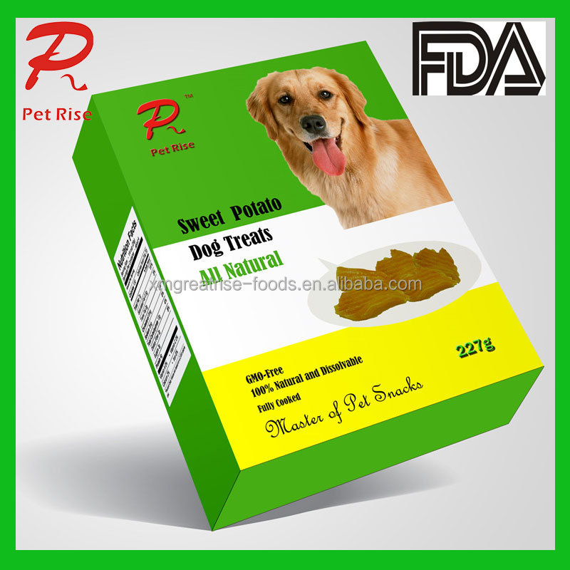 Fully Cooked and Gluten Free Food Sweet Potato as Dry Dog Food Pet Food