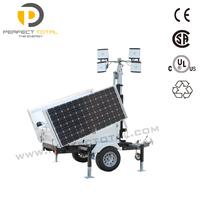 Emergency Mobile Solar Lighting Tower