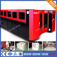SD-FC3015 2000W CNC fiber laser cutting machine, strong power laser cutters business card