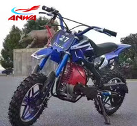 Off Road Mini Cross Motos Automatic China Dirt Bikes 49 cc Motorcycle