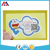 2016 China wholesale high quality Doraemon Label Cartoon Alphabet Decor Stickers