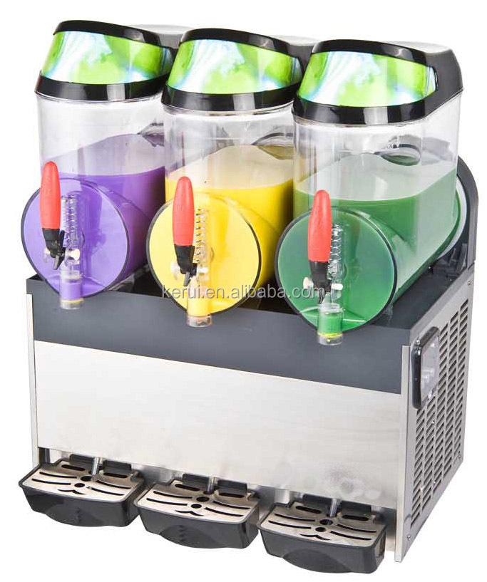 Hot sale 3 Bowl Frozen Drink Margarita/Slush Machine with CE