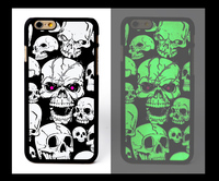 OEM Factory Price Accessories For IPhone 5 5s Cover Custom printing for iphone 4 4s Back Case Light Grow in Dark