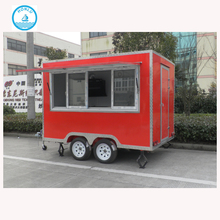 CE Approved with European standard motor tricycle mobile food cart/mobile food cart bike
