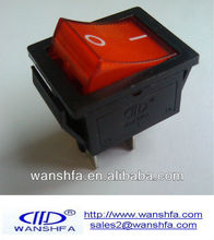 KCD4 15A/30A 250V illuminated rocker switch