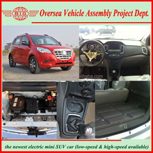 2015 new 5 seats LHD battery powered SUV car