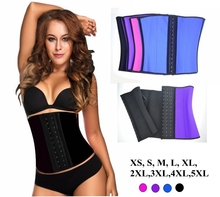 100% Latex Waist Cincher Women Rubber Waist Training Corsets Ann Chery Sport Corset Wholesale