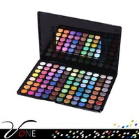 Wholesale market cosmetics,88 color eyeshadow palette for businessmen
