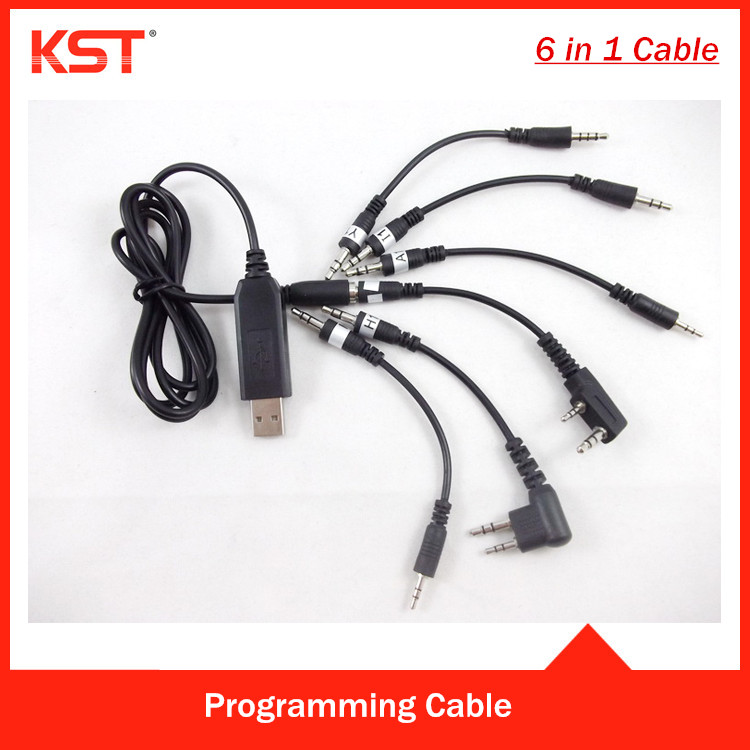 All In One USB Programming cable for Moto /Kenwd /com /Vertex /Wouxun /Puxing /Quansheng /Baofeng Two Way Radio