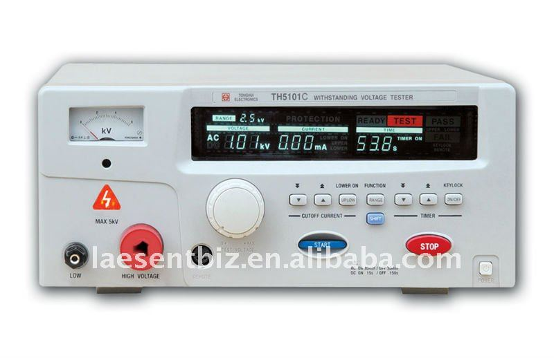 double-analog-finger- indication AC withstanding voltage and insulation TH5101D free shipping