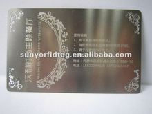 2012 Newly developed Stainless Metal Business Cards
