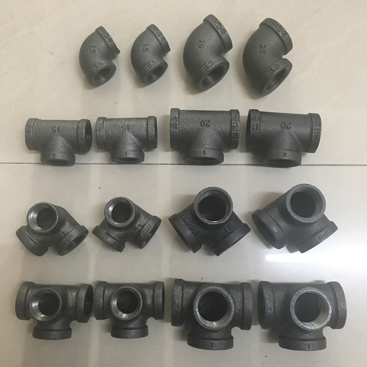 cast iron throttle valve pipe fiting